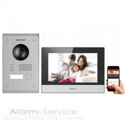 Zestaw wideodomofonowy ds-kis703-p z aplikacją
