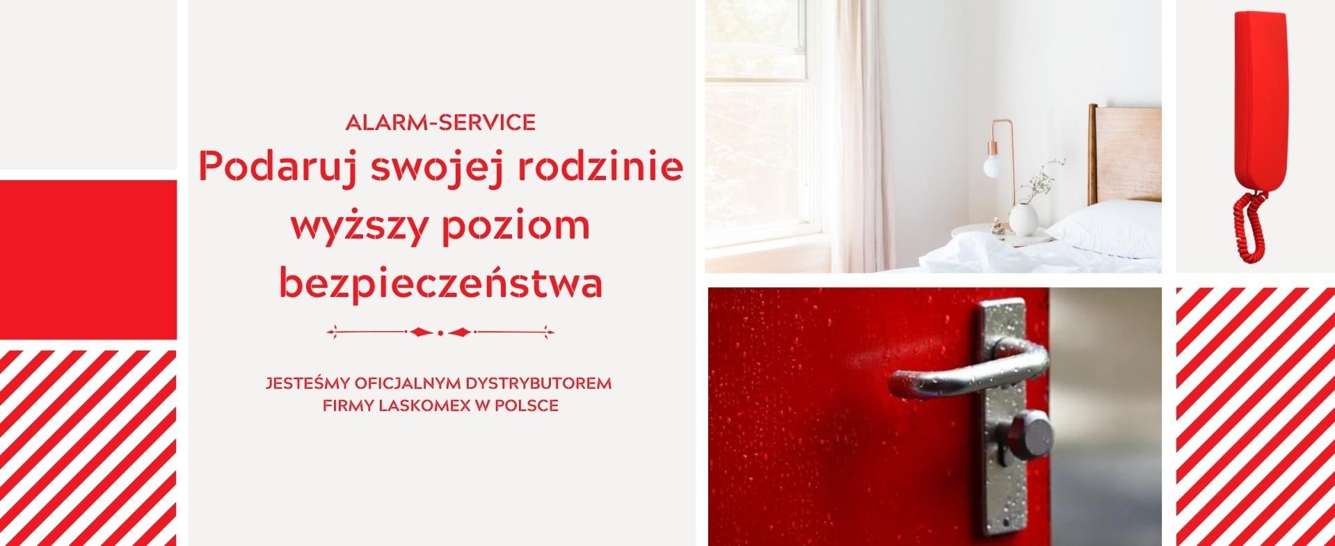 www.laskomex-sklep.pl - Portal sprzedażowy firmy Alarm-Service